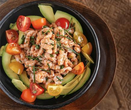 Shrimp Avo Salad