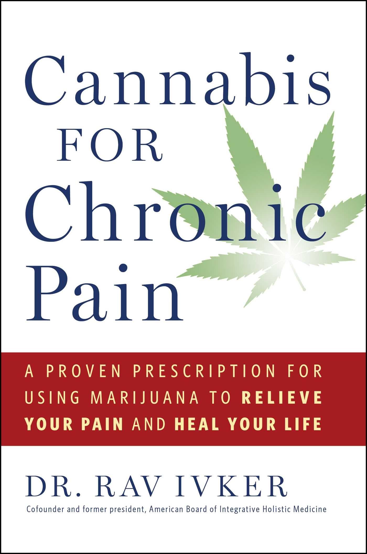Cannabis for Chronic Pain book