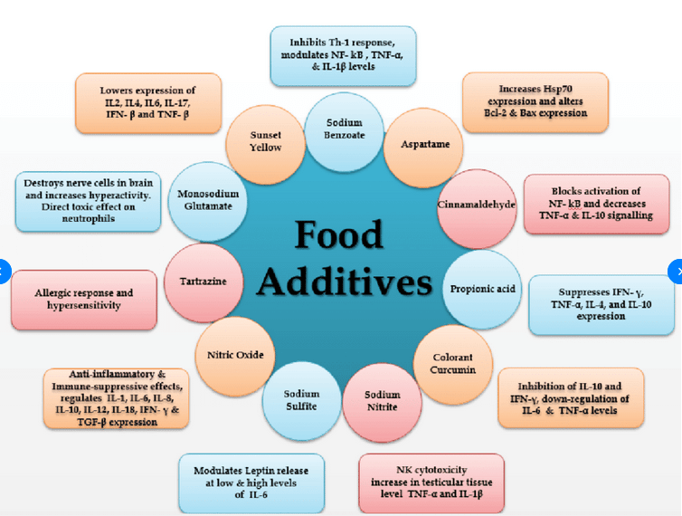 Food additives health risks