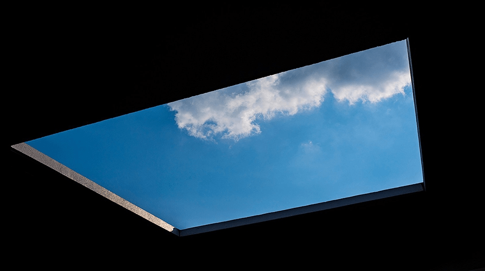 Pollan Window Sky
