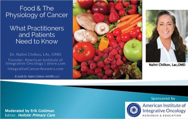 chilkov webinar food cancer