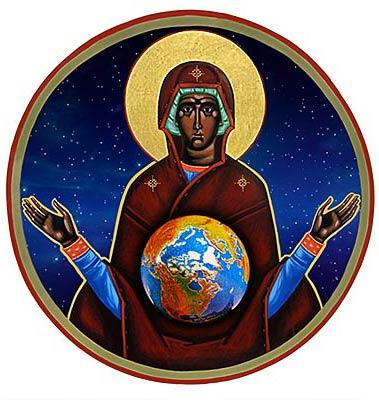 Ikon of the earth mother Paul Wirhun
